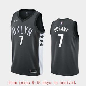Mens Brooklyn Nets #7 Kevin Durant Jersey